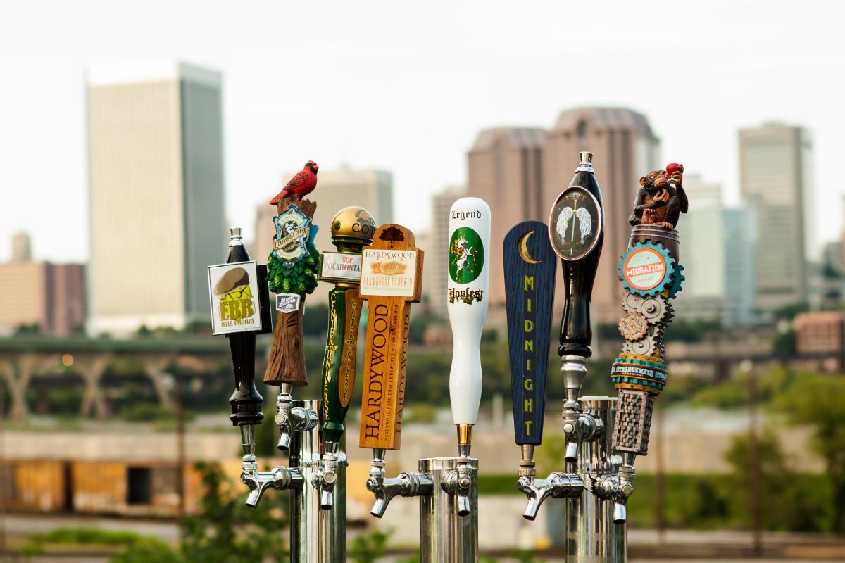 Legend taps craft beer