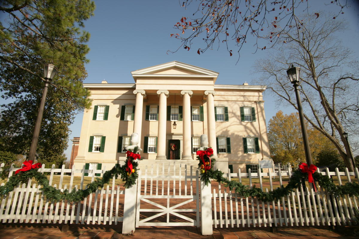 Old Governor's Mansion Christmas