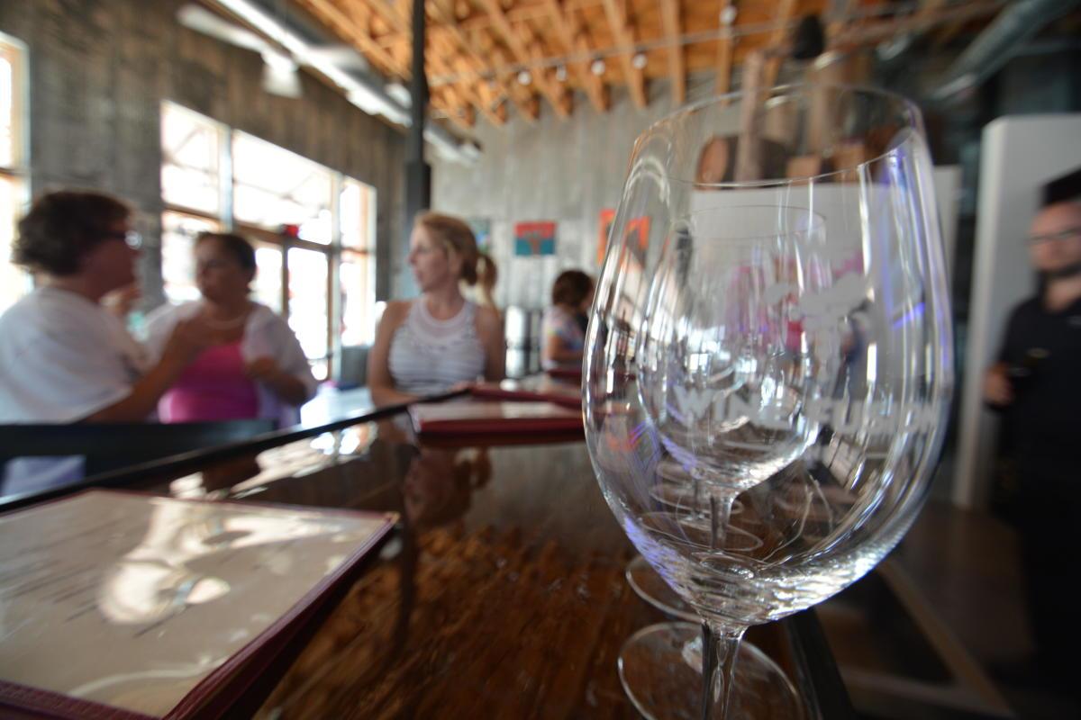 Wine and Yoga Glasses