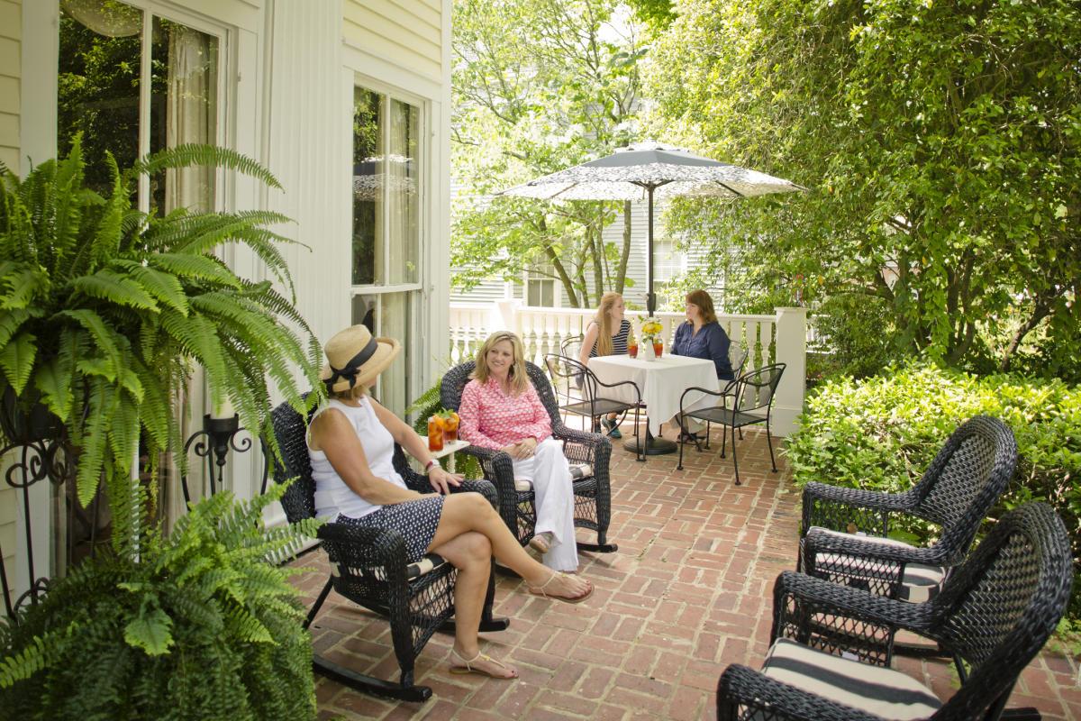 Antebellum Inn Porch Ladies
