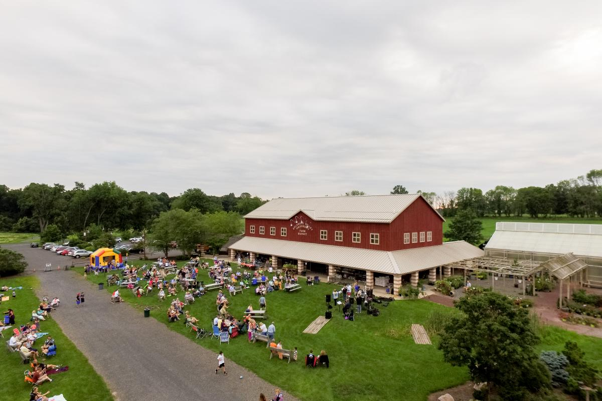 Find fresh grown produce, locally made Rose Bank Wines, freshly prepared meals, delectable desserts, locally produced organic meats, hormone-free milk in glass bottles, gourmet cheeses and crackers, Uncle Dave's Homemade Ice Cream, and our full-service Deli all under one roof.
