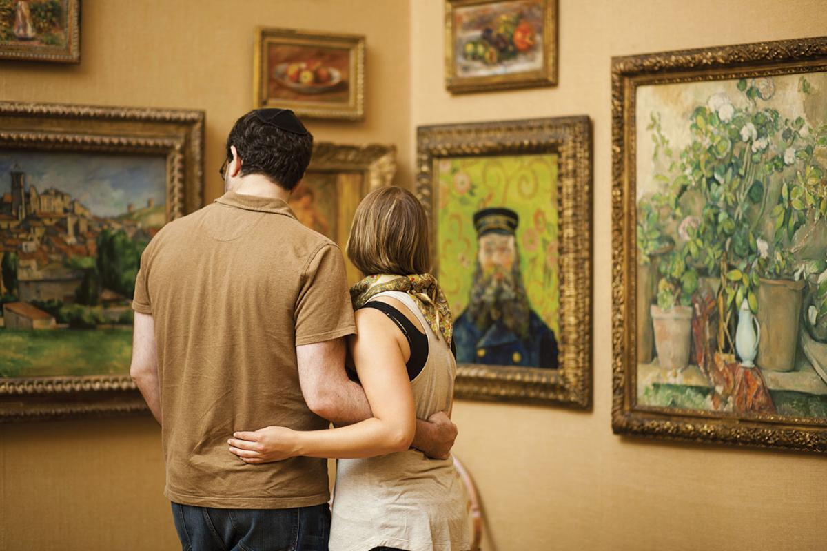 Gallery at the Barnes Foundation