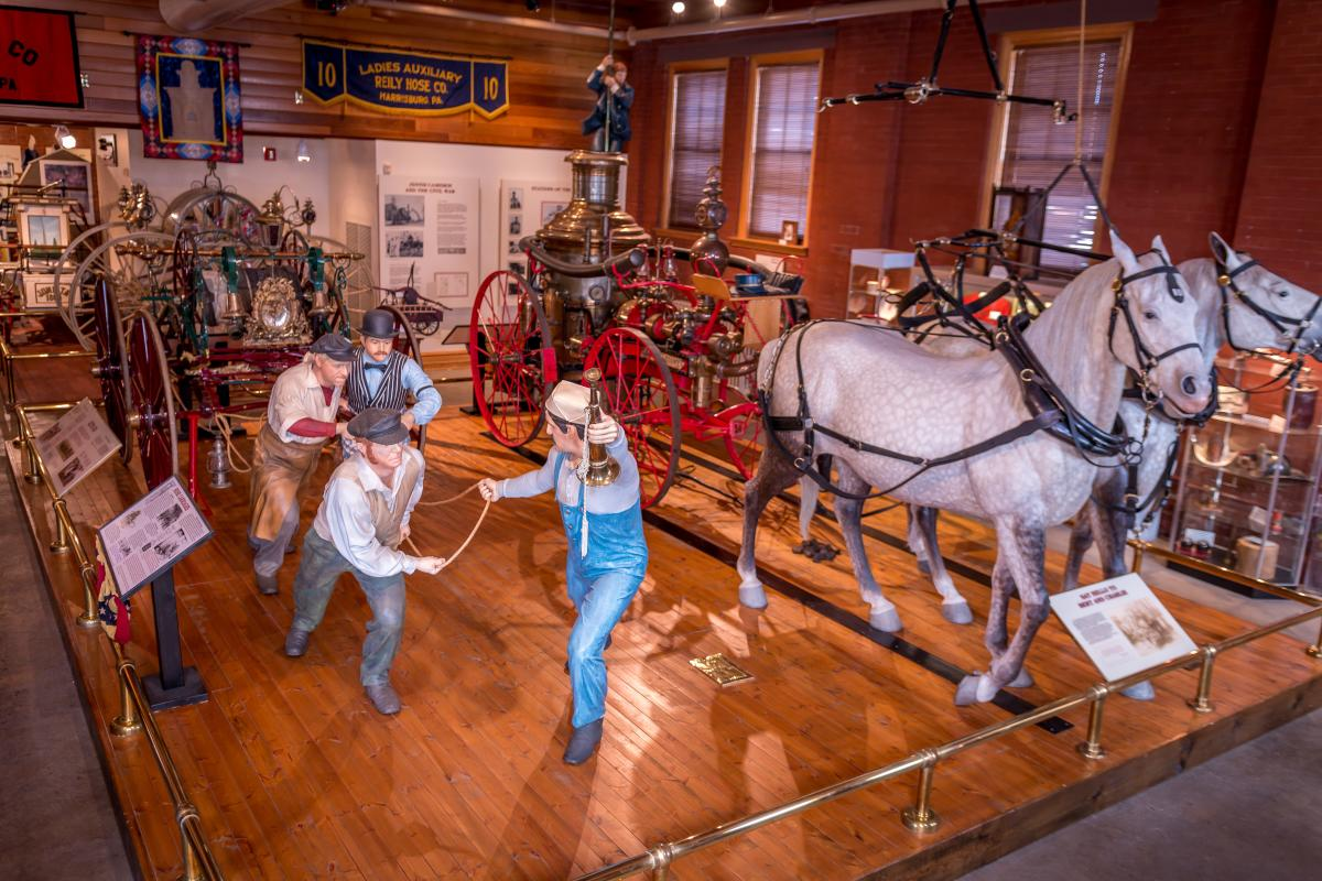 Museum-PA National Fire Museum in Harrisburg