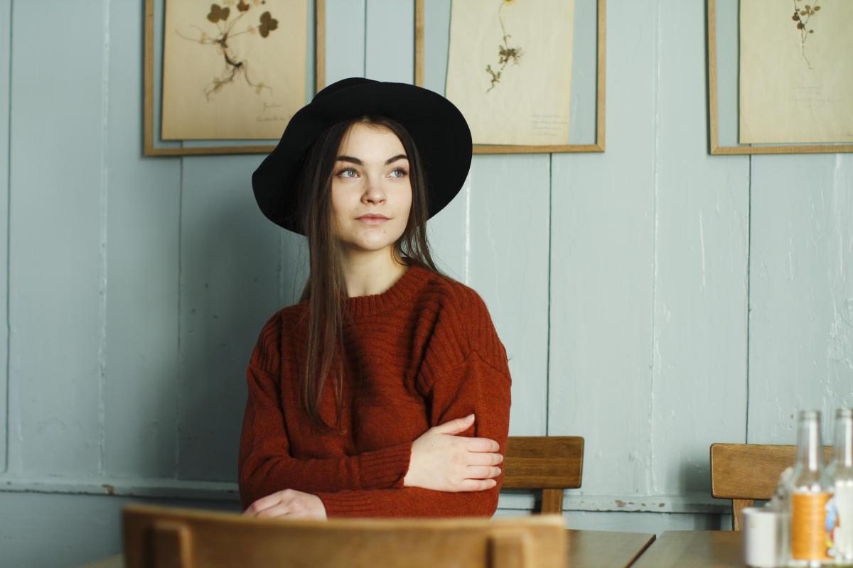 Portrett av Frida Ottesen