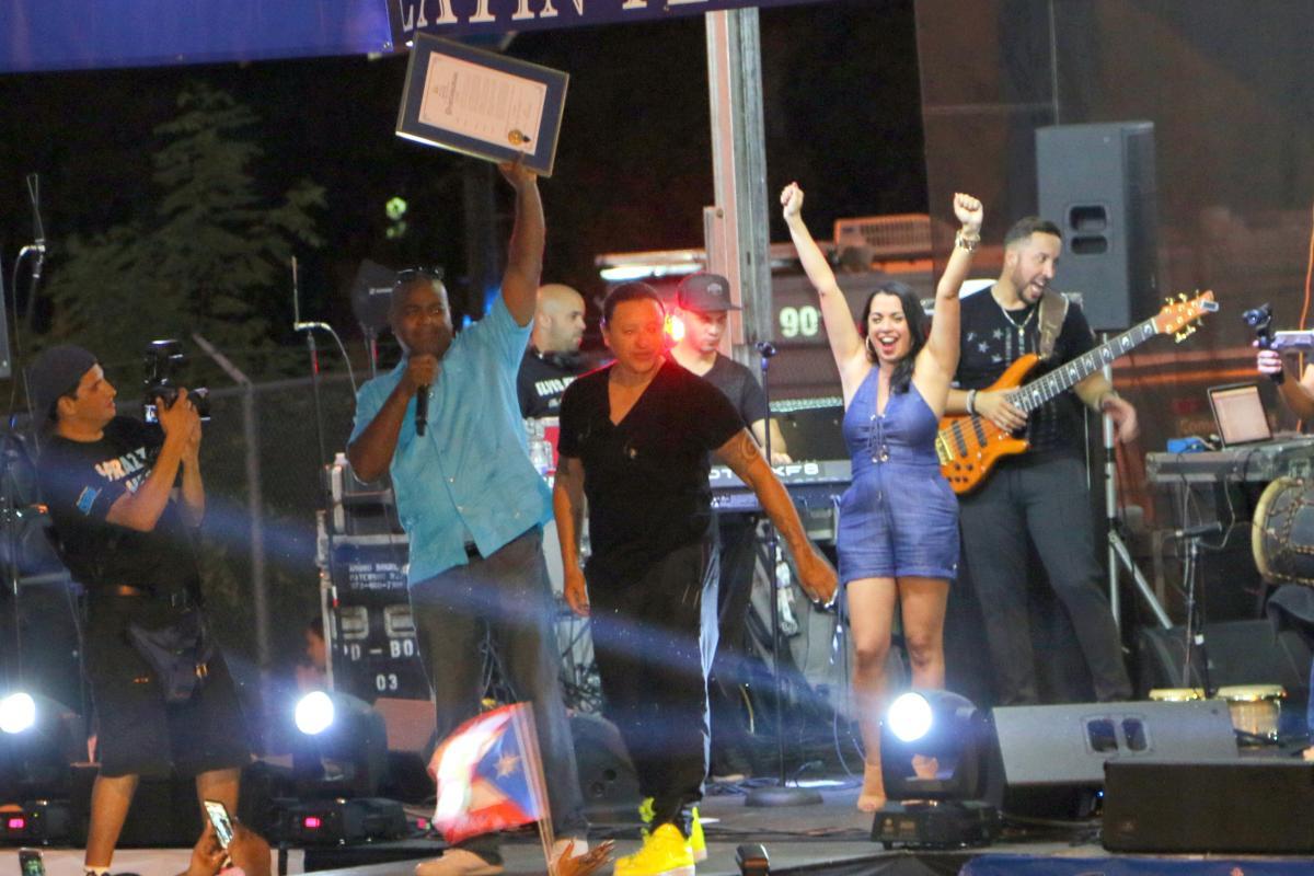 Latin Fest Stage