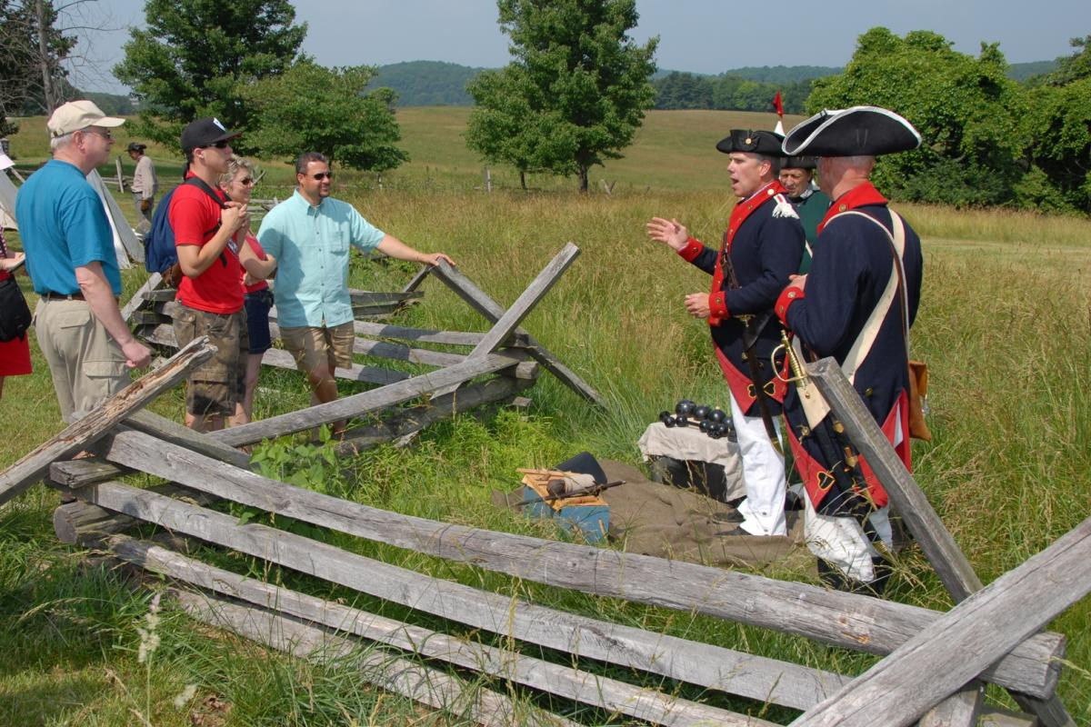 Valley Forge Park Living History