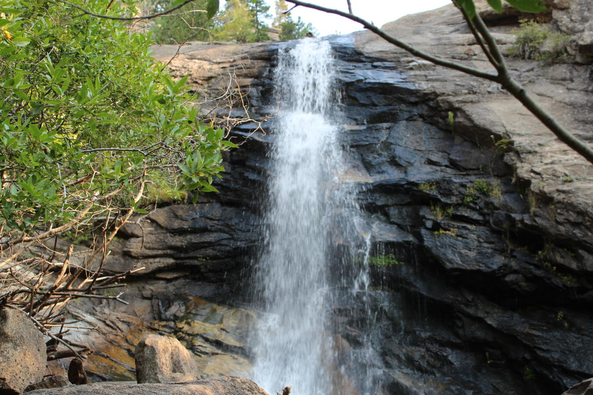 Bridal Veil Falls RMNP