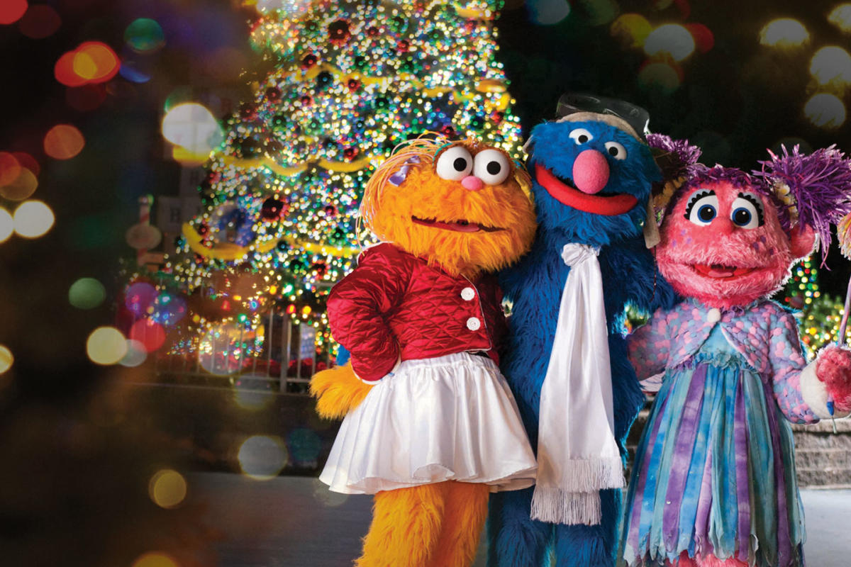 Then, at the end of each November, Sesame Place transforms into a one-of-a-kind Christmas wonderland with millions of twinkling lights and festive decorations during A Very Furry Christmas. See special Christmas shows and visit with Santa in his workshop!