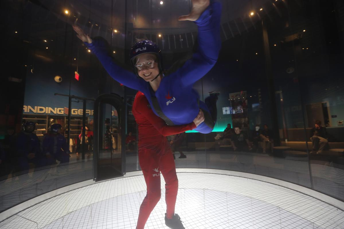 iFLY Indoor Skydiving Jessica Lawlor
