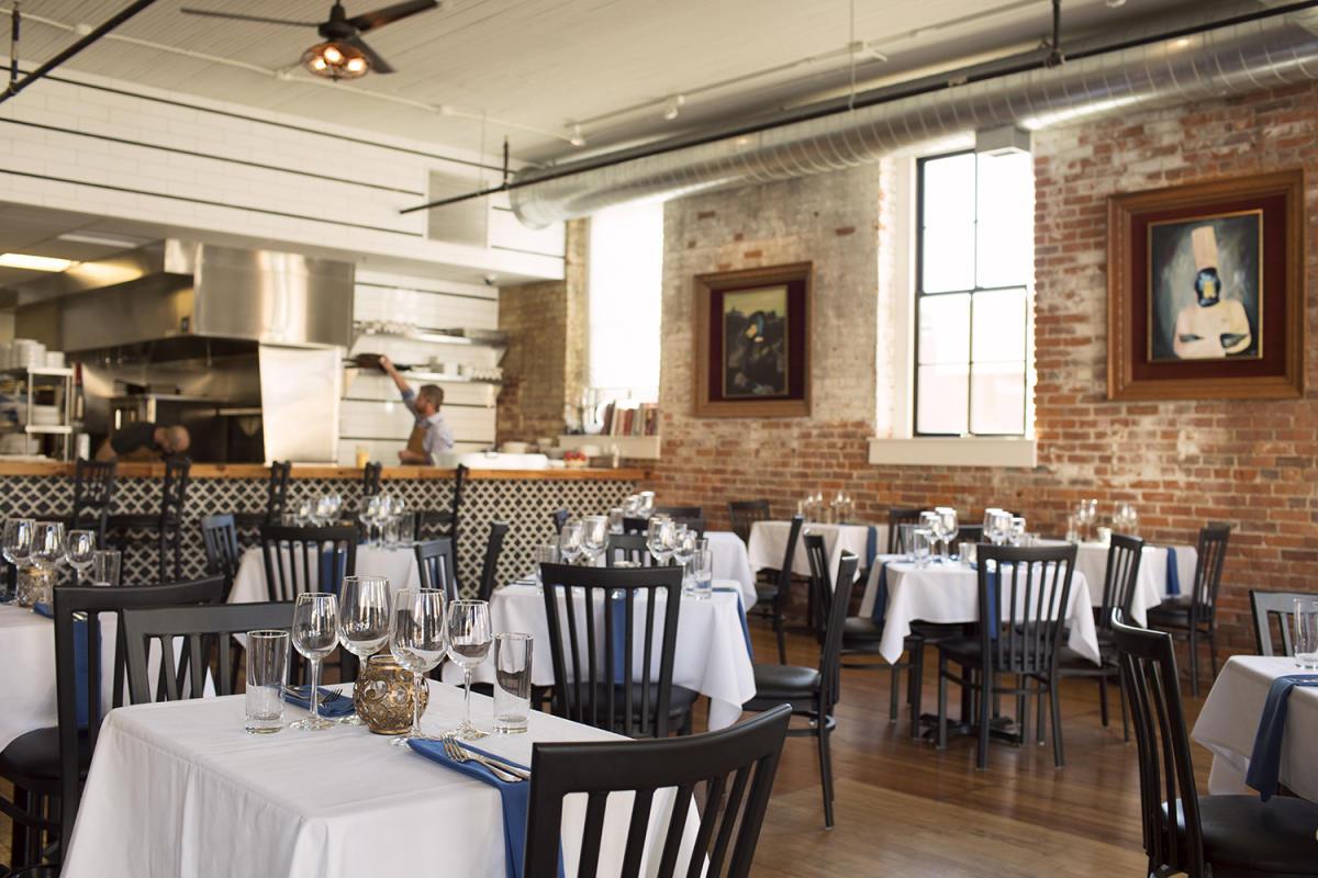 Dine at Bleu Duck Kitchen in Rochester, MN.