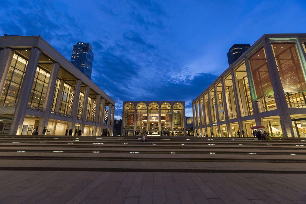 Lincoln Center. Photo by KateGlicksberg.