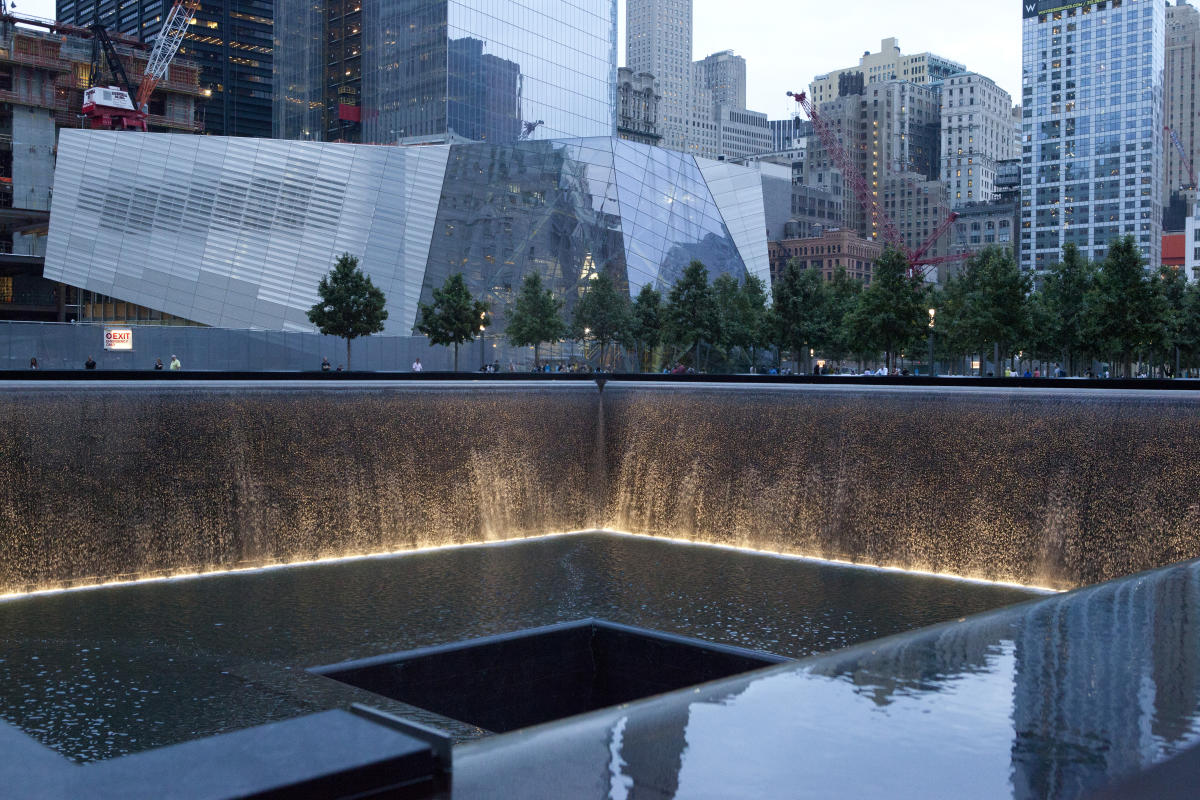 The 911 Memorial. Photo by Marley White.