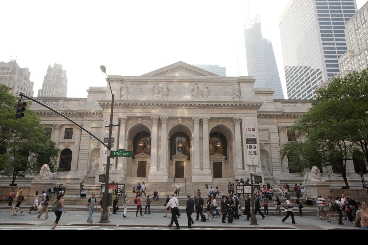 The New York Public Library Main Branch. Photo by Will Steacy.