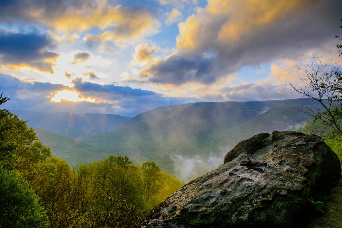 Baughman's Rock Overlook