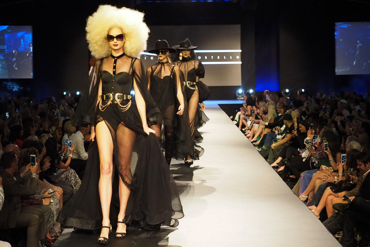 Michael Costello Runway Show at Fashion Week El Paseo