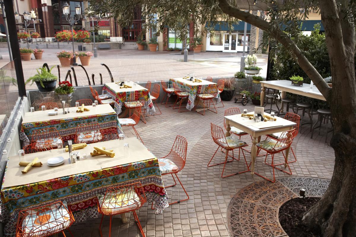 Outdoor Seating at Cucina Enoteca