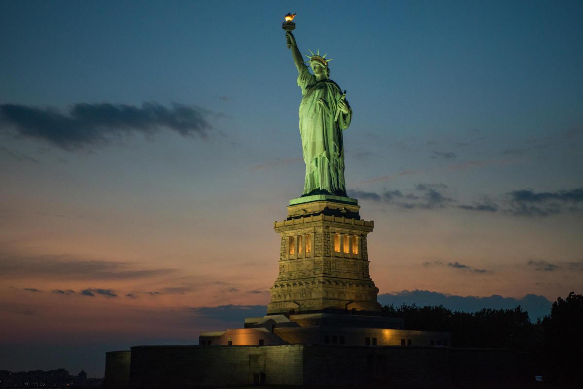Statue of Liberty, Dusk