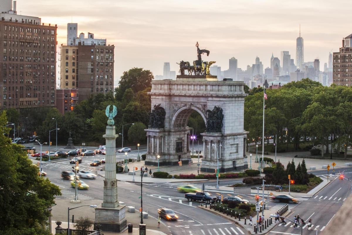 Brooklyn Public Library, Grand Army Plaza, Prospect Park, Brooklyn, NYC