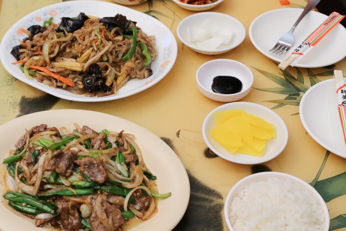 Han Joong Kwan lunch