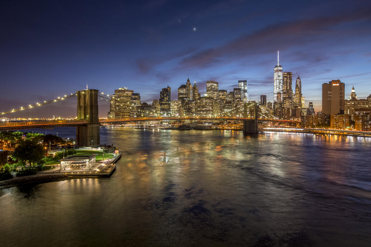 Brooklyn Bridge, manhattan, skyline, TomPerry