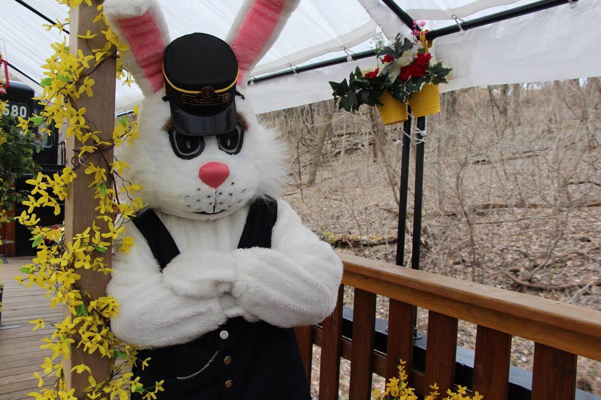 Colebrookdale Railroad Easter Bunny