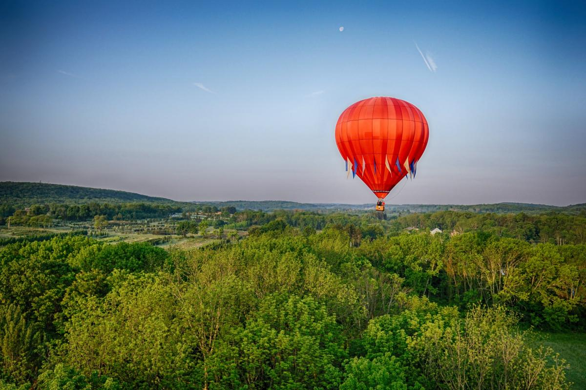 Hot Air Balloon Rides in Hershey