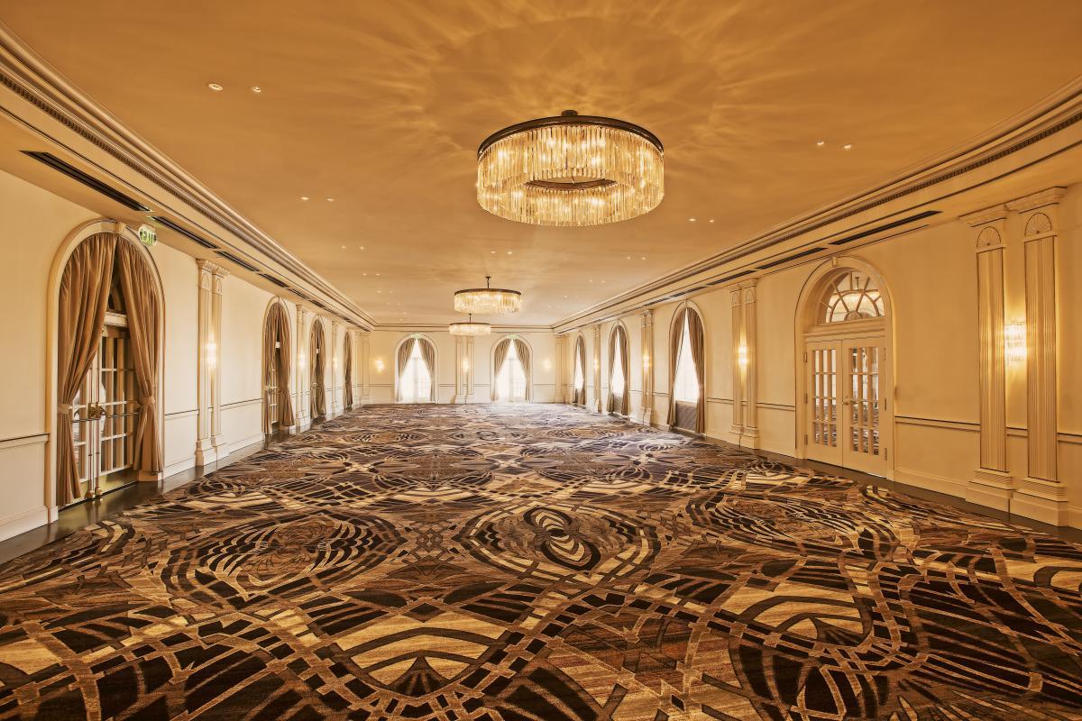 The Crystal Ballroom at The Cavalier Hotel