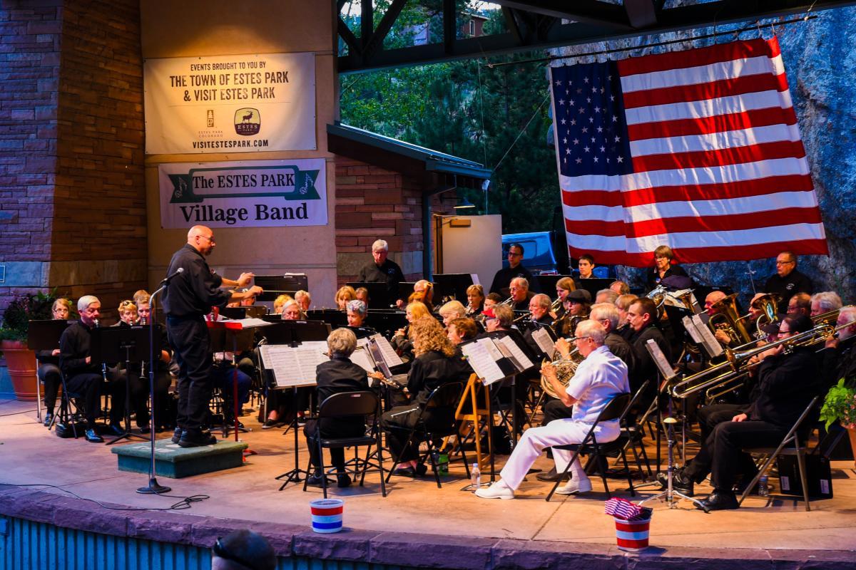 Village Band Patriotic Concert