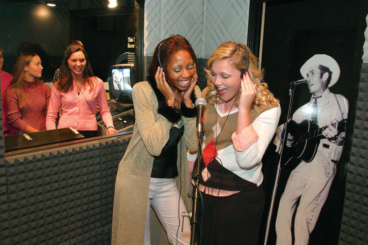 Alabama Music Hall of Fame Recording Booth