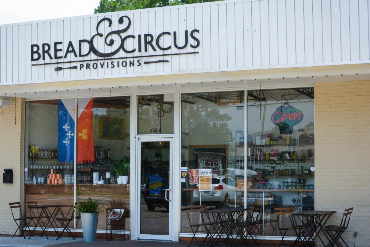 Bread & Circus Exterior