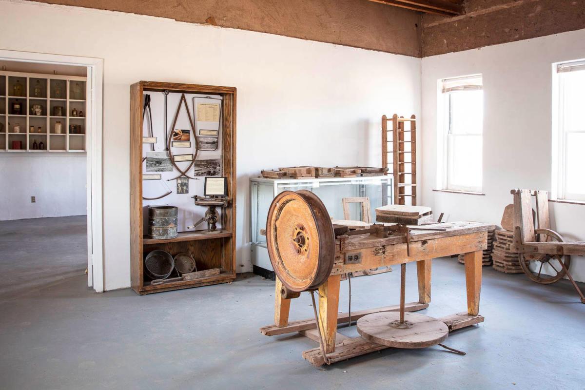 The Old Laboratory at La Luz Pottery