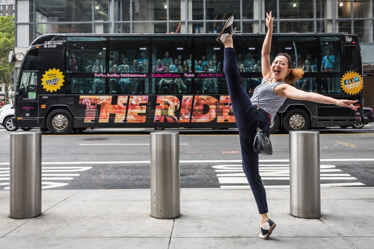 Te Ride, street performer
