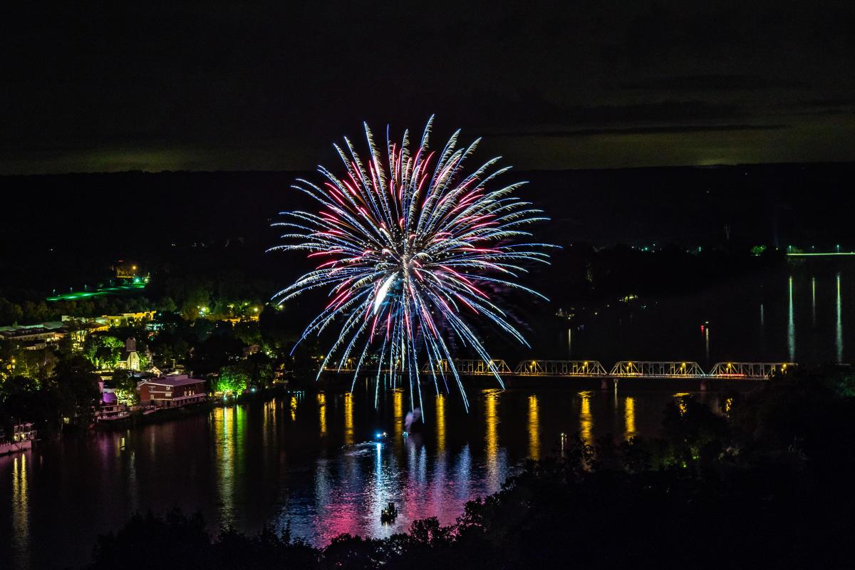 Fireworks in New Hope