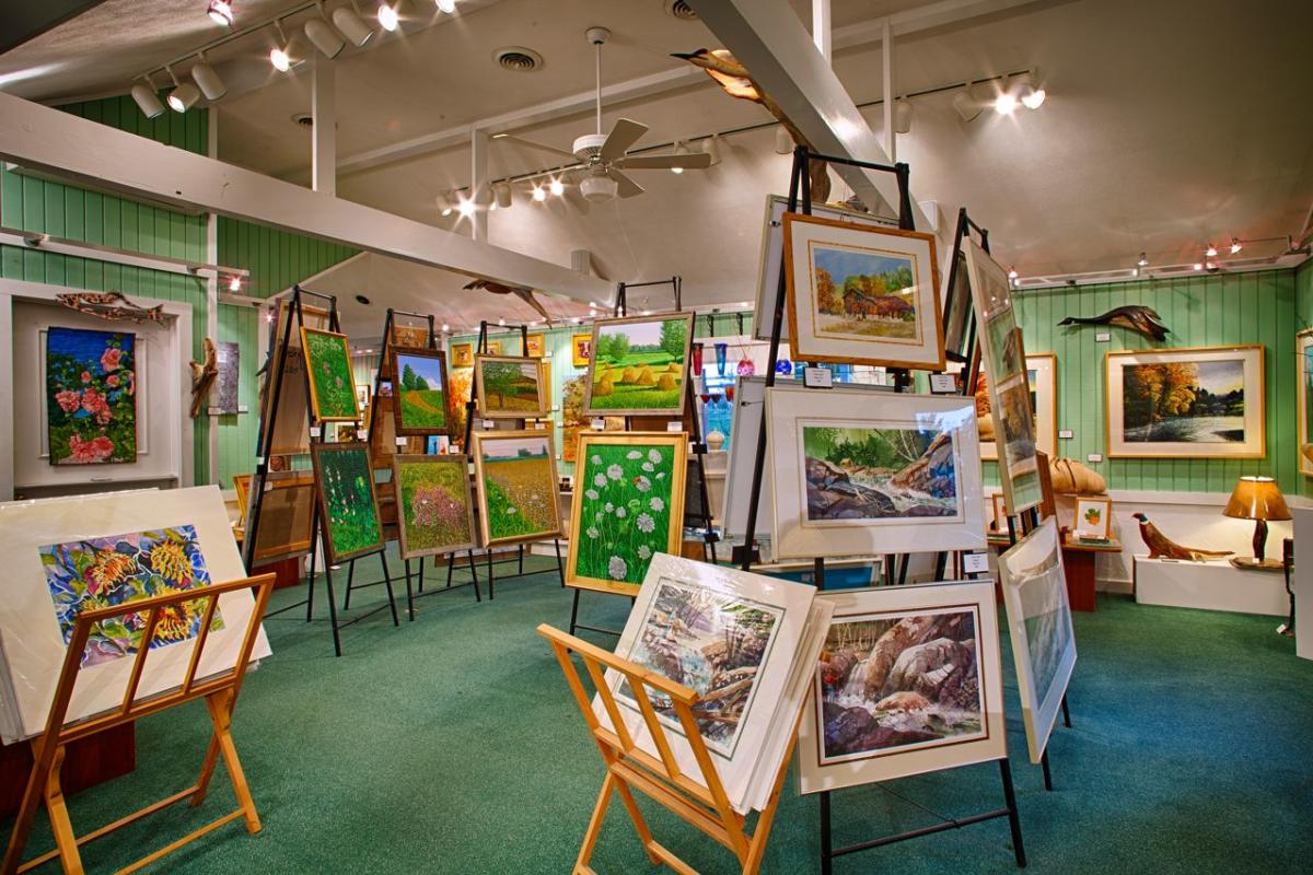 Twisted Fish Art Gallery