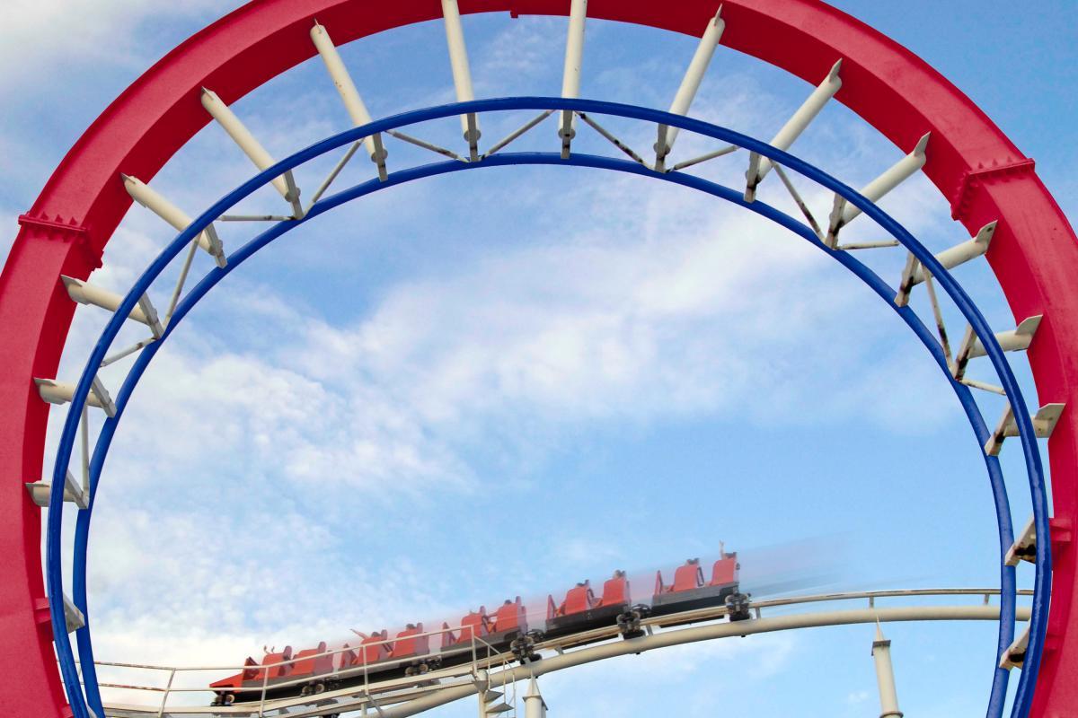 Wonderland Amusement Park - Texas Tornado