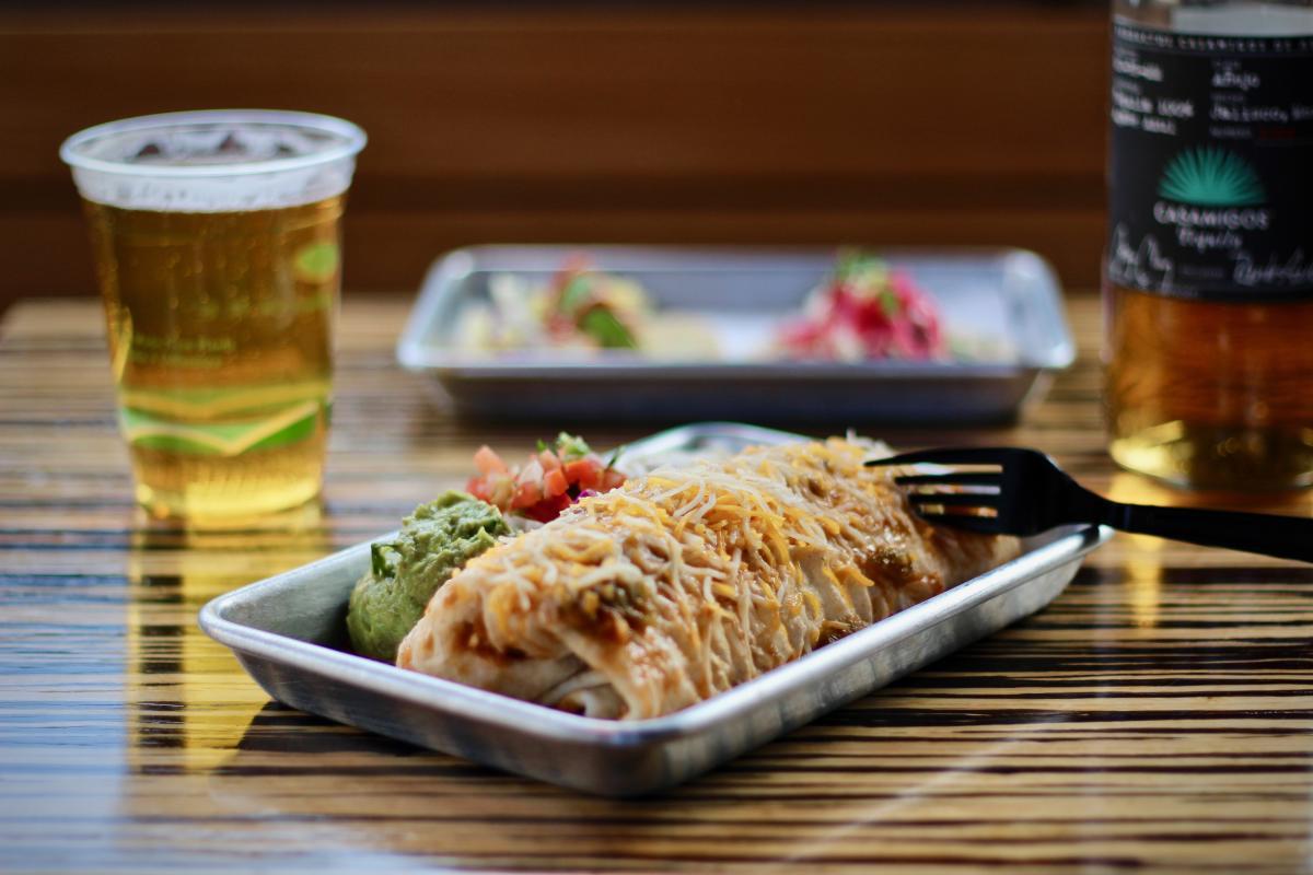 Vato's Tacos Burrito