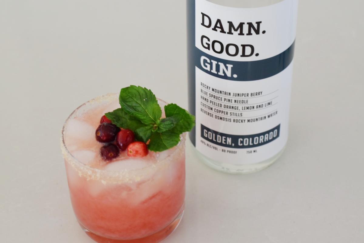 Damn Good Gin and Juice