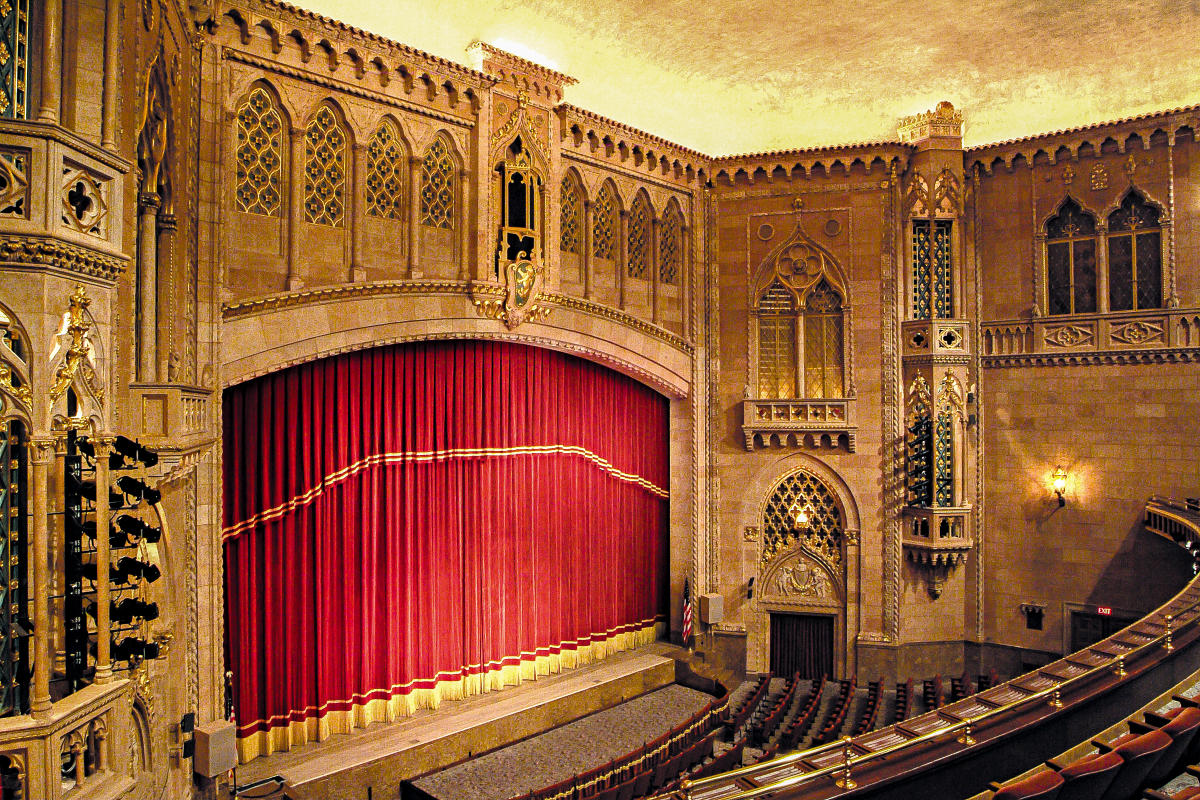Hershey Theatre Stage