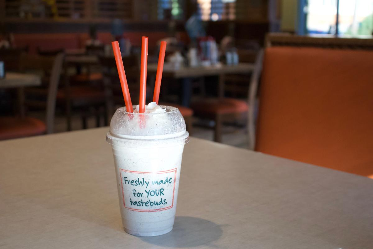 Milkshake at Farmer Boys in Irvine
