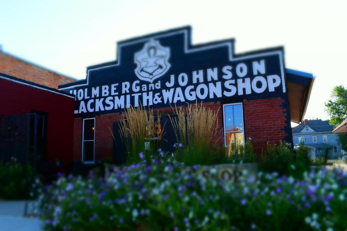 Blacksmith Coffee Store Front - Lindsborg, KS