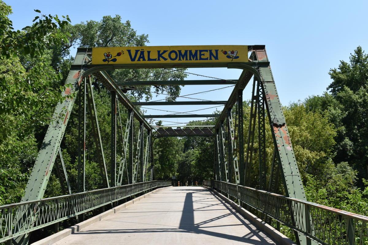 Valkomen Bridge - Lindsborg, KS