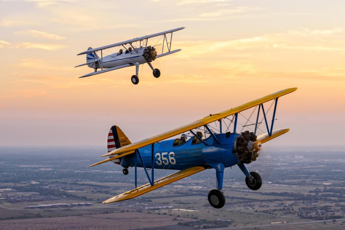 Stearman Bi-Plane