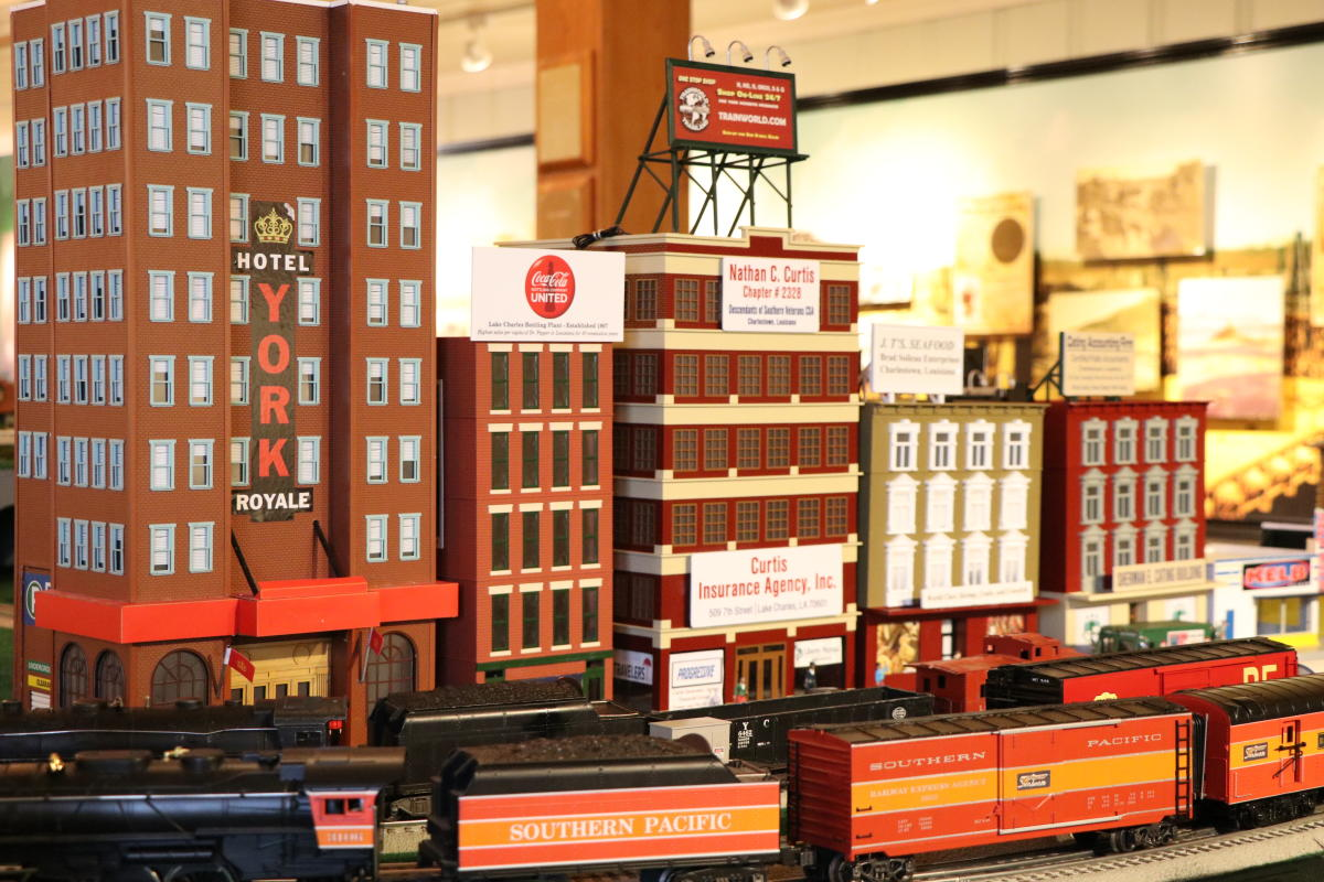 Trains at the Brimstone Museum