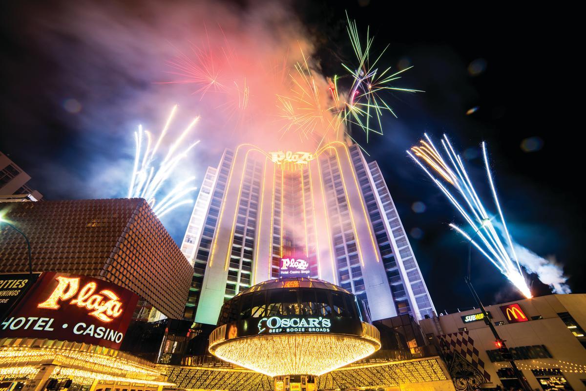 Plaza NYE Fireworks