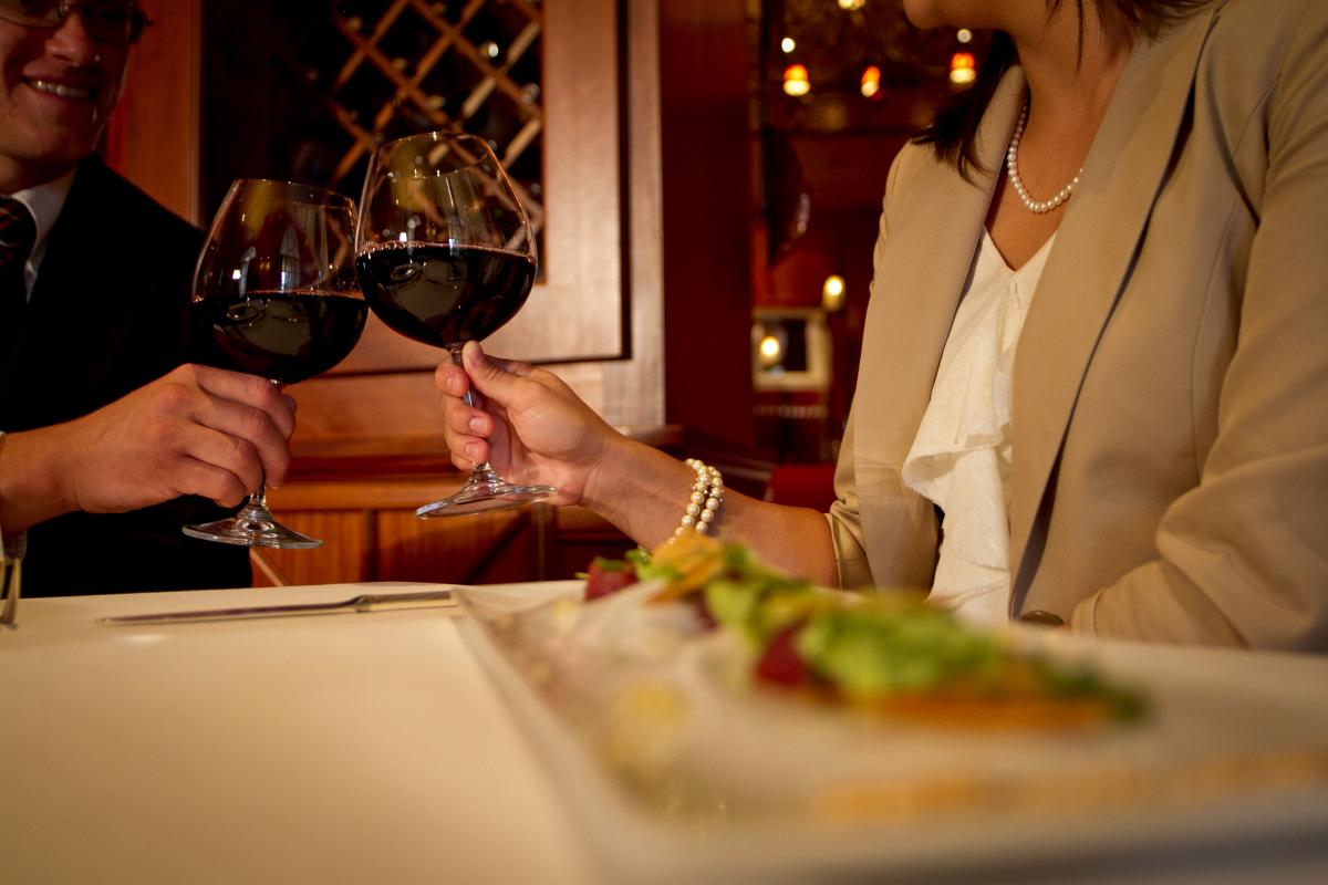Dining at Lautrec, Nemacolin Woodlands Resort