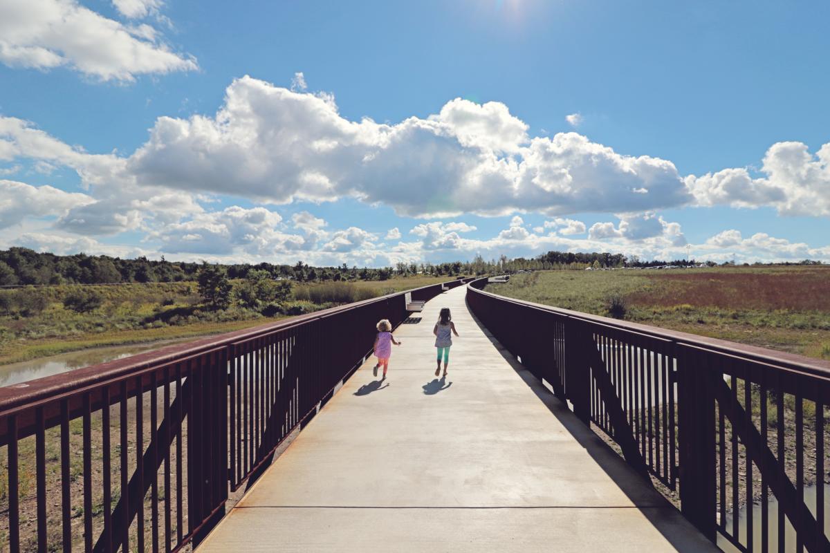 Flight 93 Wetlands Bridge