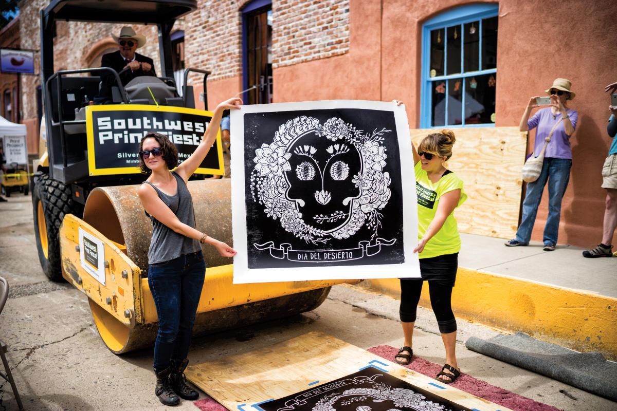 Southwest Print Fiesta in Silver City