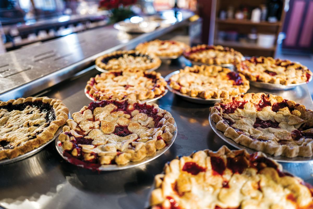 Pies from Pietown, NM.