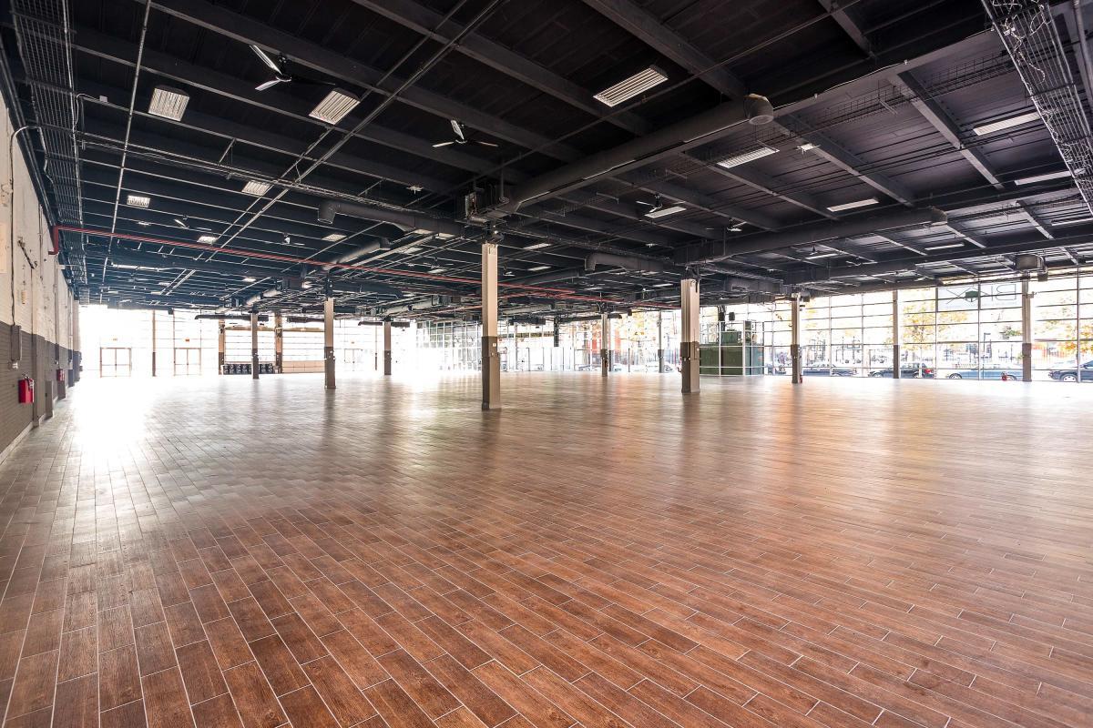 Brooklyn Expo center, interior
