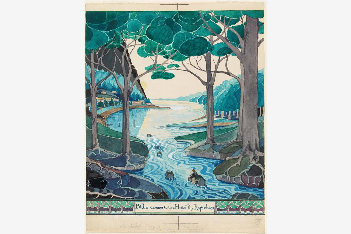 Tolkien-Morgan-Library-Murray-Hill-Manhattan-NYC-full